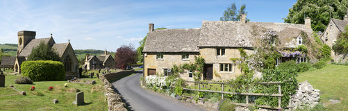 Cotswolds village Stock Image