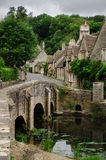 Cotswolds village Castle Combe Stock Image