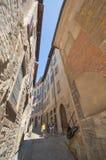 Citta Alta. Bergamo. Walking along the streets of Bergamo Stock Photos
