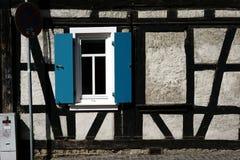 Cottage à colombage farfelu Photographie stock