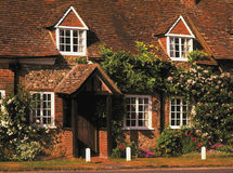 Cottage. Buckinghamshire Chilterns house village of turville Stock Images