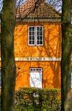 Cottage. Bucolic countryside cottage (Helsigor, Danemark royalty free stock photos