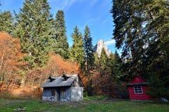 Cottage abandonné Image stock
