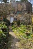 Cottage abandonné de pays Image libre de droits