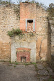Cottage abbandonato Fotografie Stock