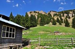 Cottage abbandonato del pastore Fotografie Stock