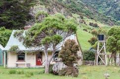 Cottage alla baia della pulce Immagini Stock Libere da Diritti
