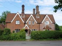 Cottage alla strada di 9 Latimer, Chenies fotografie stock libere da diritti