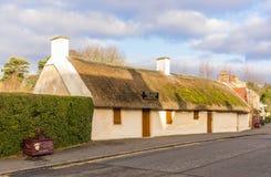 Cottage Alloway delle ustioni Fotografie Stock
