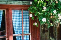 Cottage alpino bavarese Fotografia Stock Libera da Diritti