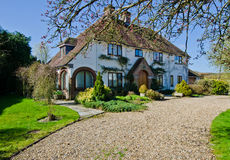Cottage anglais de village Images stock