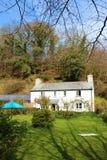 Cottage anglais typique, les Cornouailles, R-U Image stock