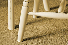 Free Cottage Antique Chair Legs Sepia Stock Image - 36553701