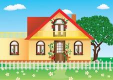 Cottage. Royalty Free Stock Image