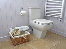 Cottage bathroom suite Royalty Free Stock Image