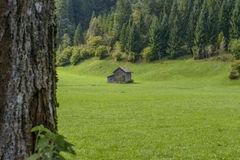 Cottage in Bavaria, Germany Stock Photos