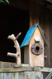 Cottage Birdhouse Stock Photos