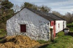 Cottage blanc Image libre de droits
