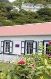 Cottage The Bottom Saba Dutch Netherlands Royalty Free Stock Photography