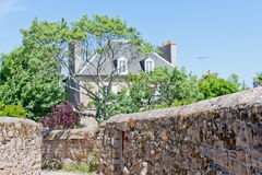 Cottage in Brittany, France Stock Images