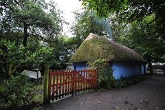 Cottage in Bunratty Folk Park Royalty Free Stock Image