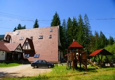 Cottage 'CABANA MOTULUI' Royalty Free Stock Images