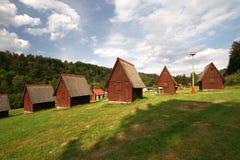 Cottage camp Stock Photo