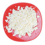 Cottage cheese. Royalty Free Stock Images