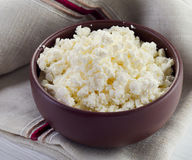 Cottage cheese Stock Photography