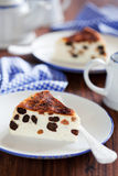 Cottage cheese cake Royalty Free Stock Images