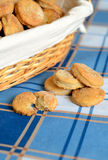 Cottage cheese cookies Stock Images