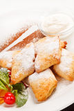 Cottage cheese cookies Stock Image