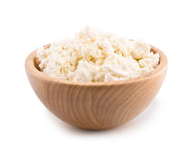 Cottage cheese. Curd Royalty Free Stock Images