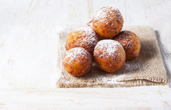 Cottage cheese donuts Stock Photo