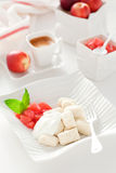 Cottage cheese gnocchi Stock Image