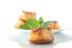 Cottage cheese muffins Royalty Free Stock Photos