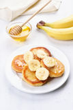 Cottage cheese pancakes Royalty Free Stock Images