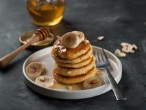 Cottage cheese pancakes Royalty Free Stock Photo