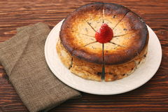 Cottage cheese pie Royalty Free Stock Photos