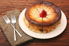 Cottage cheese pie Royalty Free Stock Photography