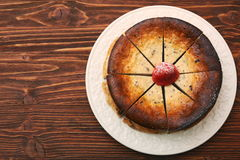 Cottage cheese pie Royalty Free Stock Photo