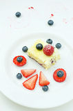 Cottage cheese pudding Royalty Free Stock Photography