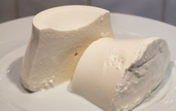 Cottage cheese-ricotta. Royalty Free Stock Images