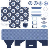 Cottage chic party set Royalty Free Stock Photography