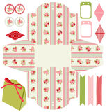Cottage chic party set Stock Photography