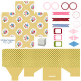 Cottage chic party set Royalty Free Stock Images