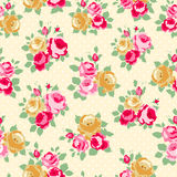 Cottage chic patterns Stock Image