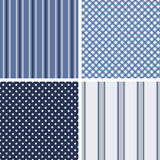 Cottage chic patterns Stock Photos