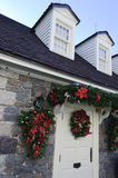 Cottage at Christmas Royalty Free Stock Photography