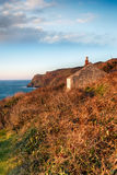 Cottage on the Cliffs Royalty Free Stock Images